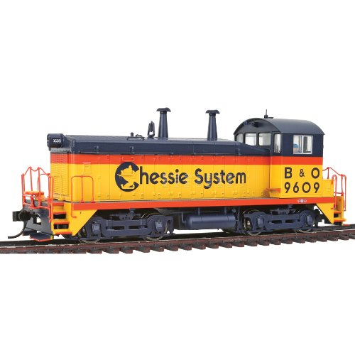 Walthers PROTO 2000 HO Scale Diesel EMD SW9/1200 Powered Standard DC - Chessie System/Baltimore And Ohio #9609