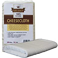 Cheesecloth – Unbleached Grade 50 Nat…
