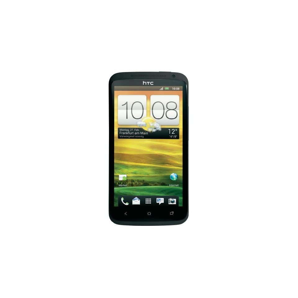 HTC One X 16GB Unlocked GSM Phone with Android 4.0 OS, Audio Beats, Super IPS LCD2 Touchscreen, 8MP Camera, GPS, Wi Fi and Bluetooth   Gray Cell Phones & Accessories