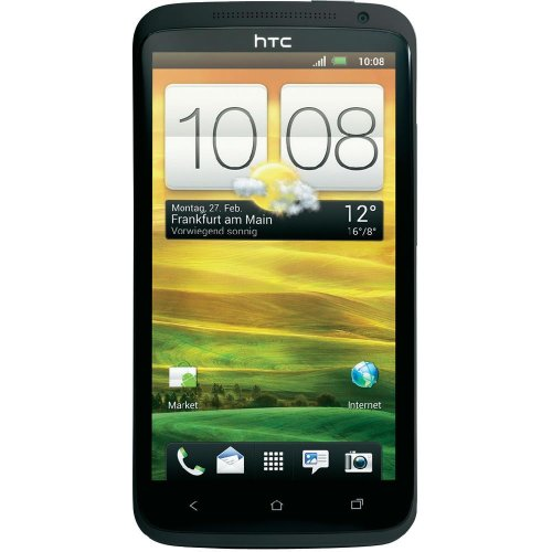 Htc One X 16Gb Unlocked Gsm Phone With Android 4.0 Os, Audio Beats, Super Ips Lcd2 Touchscreen, 8Mp Camera, Gps, Wi-Fi And Bluetooth - Gray