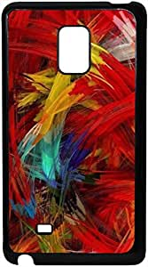 FCS Printed 2D Designer Hard Back Case For Samsung Galaxy Note Edge With Universal Mobile Stand