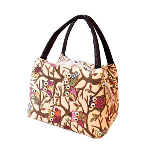 SUPPION Lunch bags, Thermal Insulated Tote Picnic Lunch Cooler Bag Cooler Box Handbag Pouch for kids, adult, women, men (Personalized Cooler Tote compare prices)