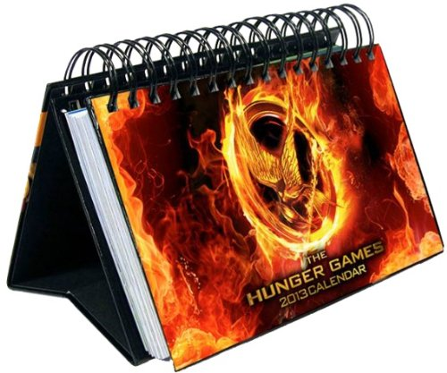 The Hunger Games 2013 Easel Desk Calendar