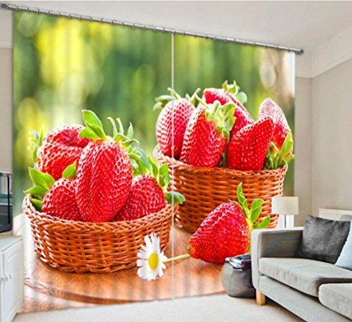 erdbeere-obstkorbe-warmen-dekoriert-schlafzimmerfenster-vorhange-beschattung-leinen-3d-fertig-wide-3