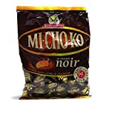 La Pie qui Chante MICHOKO Dark Chocolate Wrapped Caramels Toffee Candy - 3.5 oz