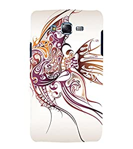 printtech Fish Abstract Art Pattern Back Case Cover for Samsung Galaxy Grand Prime G530h