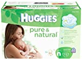 Huggies Pure & Natural Diapers, Newborn, 72 Count by Huggies