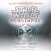 Star Wars: Heir to the Empire (20th Anniversary Edition), The Thrawn Trilogy, Book 1 | Timothy Zahn