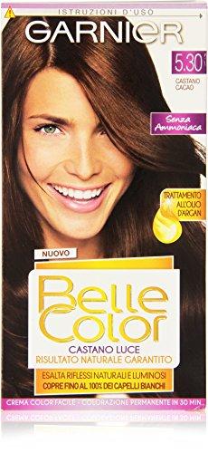 Garnier - Crema Color facile, Colorazione Permanente, Castano Cacao -   1 confezione