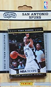 San Antonio Spurs Brand New 2012 2013 Hoops Basketball Factory Sealed 10 Card Team... by Hoops+Factory+Sealed+Team+Set
