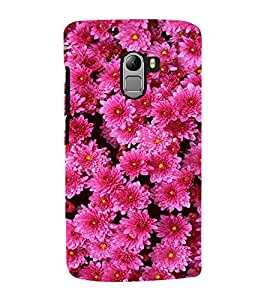 Pink Flowers 3D Hard Polycarbonate Designer Back Case Cover for Lenovo Vibe K4 Note :: Lenovo K4 Note A7010a48 :: Lenovo Vibe K4 Note A7010 :: Lenovo Vibe X3 Lite