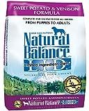 Natural Balance L.I.D. Limited Ingredient Diets Sweet Potato & Venison Formula Dry Dog Food, 13-Pound