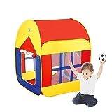BATTOP大空間 室内と屋外1 ~ 7歳の子どもゲームの両とびら型テント(基本デザイン) (一般色)