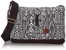 Roxy Over The Sand Messenger Shoulder Bag, True Black, One Size