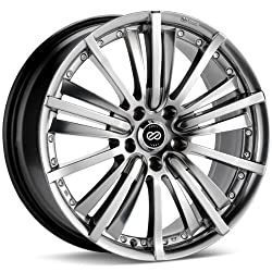 Enkei LSF- Luxury Series Wheel, Platinum Metallic (18×8″ – 5×114.3/5×4.5, 40mm Offset) One Wheel/Rim