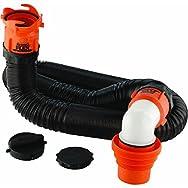 Camco Mfg. Inc./RV 39761 RhinoFLEX RV Sewer Kit-RV SEWER KIT W/FITTINGS