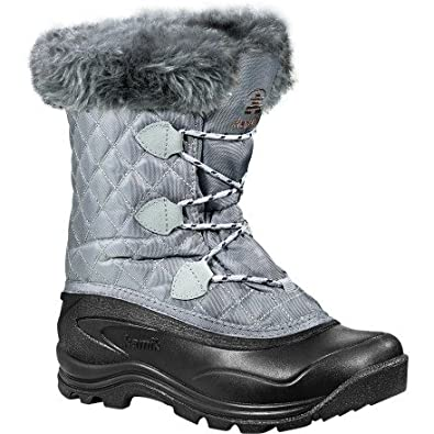 Kamik Women's Mount Snow, Light Grey-6