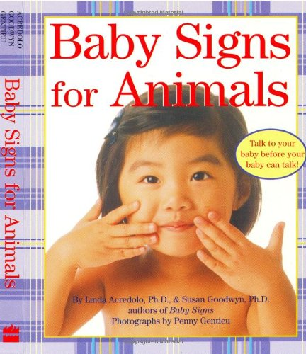 Baby Signs For Animals (Baby Signs (Harperfestival)) front-271427