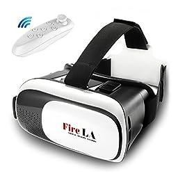 Fire LA VR - Virtual Reality Headset 3D Glasses