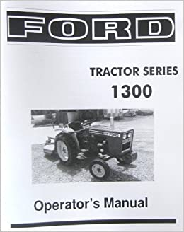 ford tractor owners manual download