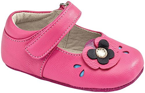See Kai Run Baby Girls' Smaller Hayven (Infant) - Hot Pink - 9-12 Months front-507960