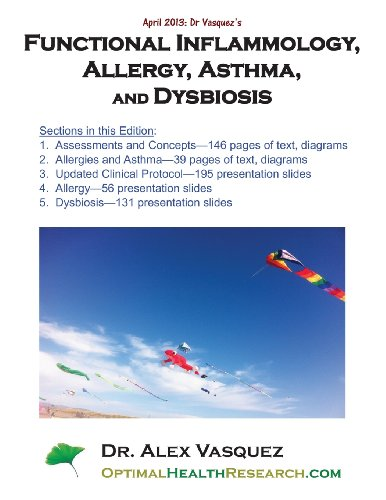 Functional Inflammology, Allergy, Asthma, And Dysbiosis: Chapters And Presentation Slides: April 2013