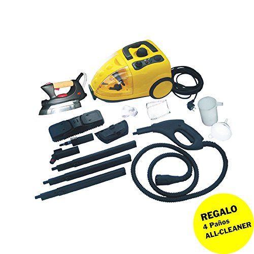 Vaporetta Scopa a vapore multi pulizia hydroclean 1500 W, con 7 accessori, con ferro da stiro da 850 W, colore