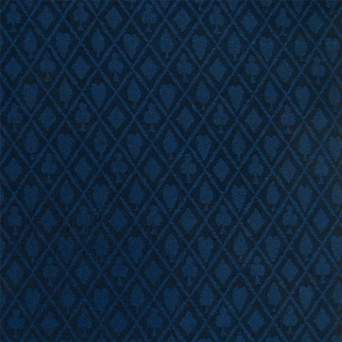 Big Save! Stalwart 3 Yards of Suited Waterproof Poker Table Cloth, Midnight Blue