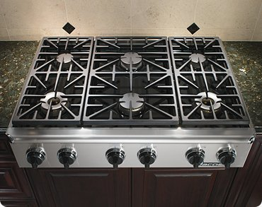 Dacor Epicure Series 36 inch Stainless Steel Gas Cooktop - EG366SCHNG