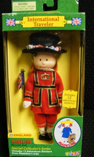 Madeline Doll International Traveler England 2000 Retired