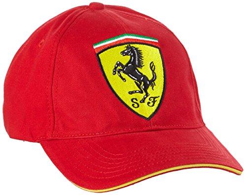 ferrari-f1-cappellino-unisex-adulto-rosso-rot-taglia-unica