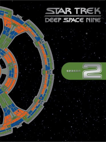 Cover art for  Star Trek Deep Space Nine - The Complete Second Season