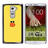 All Phone Most Case Hard PC Metal piece Shell Slim Cover Protective Case for LG G2 D800 D802 D802TA D803 VS980 LS980 yellow duck bath toy kids drawing