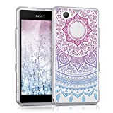 kwmobile Crystal Case Hülle für Sony Xperia Z1 Compact