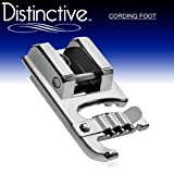 51qQ1hneXcL. SL160  Distinctive Cording Sewing Machine Presser Foot   Fits All Low Shank Snap On Singer*, Brother, Babylock, Viking (Husky Series), Euro Pro, Janome, Kenmore, White, Juki, Bernina (Bernette Series), New Home, Simplicity, Necchi, Elna and More!