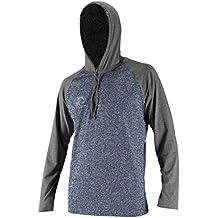 O'Neill Wetsuits UV Sun Protection Mens 24/7 Hybrid Long Sleeve Hoodie Sun Shirt