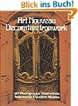 Art Nouveau Decorative Ironwork (Dove...