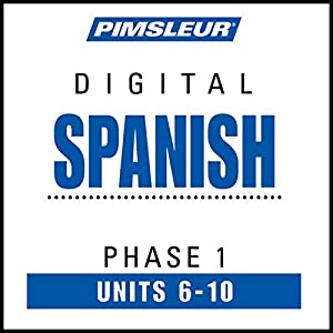 Spanish Phase 1, Unit 06-10 Audiobook