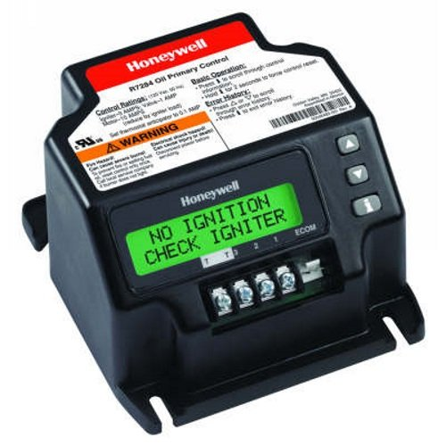 Honeywell R7284U-1004 Universal Electronic Oil Primary with Programmable Parameters and LCD Display