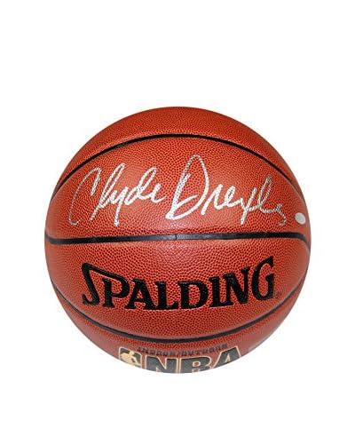 Steiner Sports Memorabilia NBA Houston Rockets Clyde Drexler Signed Zi/O Basketball