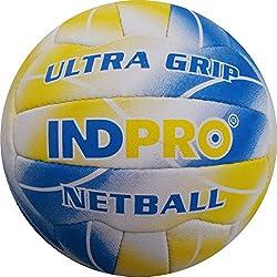Indpro Unisex Ultra Grip Netball 5 Blue