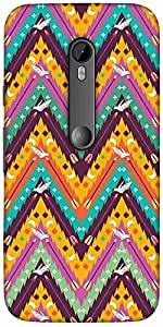 Snoogg Aztec Abstract Designer Protective Back Case Cover For Motorola G 3Rd ...