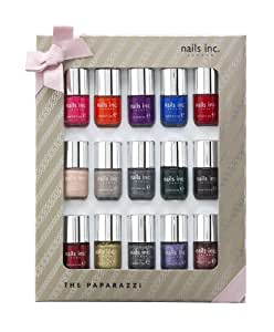 nails inc. The Paparazzi collection 15 x 4 ml BOXED