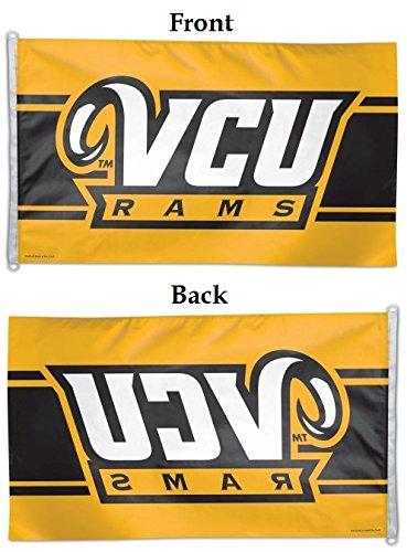 Vcu Rams Flag 3X5 Wincraft Large Logo Flag Virginia Commonwealth University