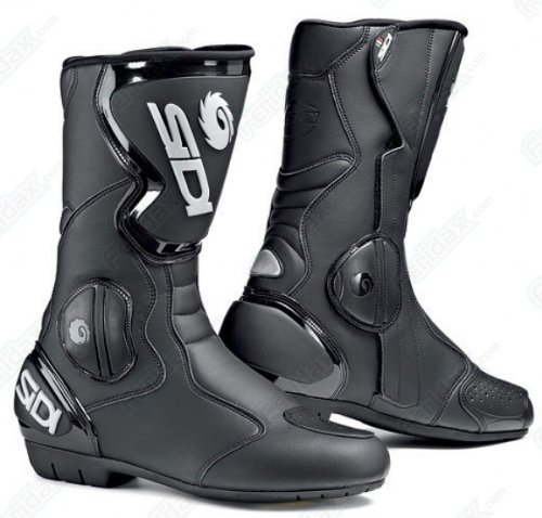 SIDI Black Rain Waterproof Motorcycle Boots, 50
