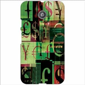 Moto E (2nd Gen) 4G Back Cover - Funky Designer Cases