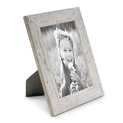 bilderrahmen 13x18 cm strandhaus grau rustikal massivholz mit glasscheibe inkl zubeh r fotorahmen. Black Bedroom Furniture Sets. Home Design Ideas