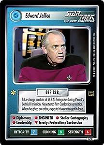Star Trek Ccg 1e Ha Holodeck Adventures Edward Jellico 67r+