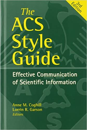 ACS Style Guide image