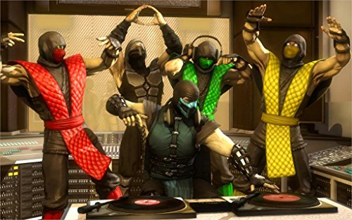 makeuseof-reptile-mortal-kombat-scorpion-smoke-ermac-sub-zero-dj-dancing-home-decoration-canvas-post